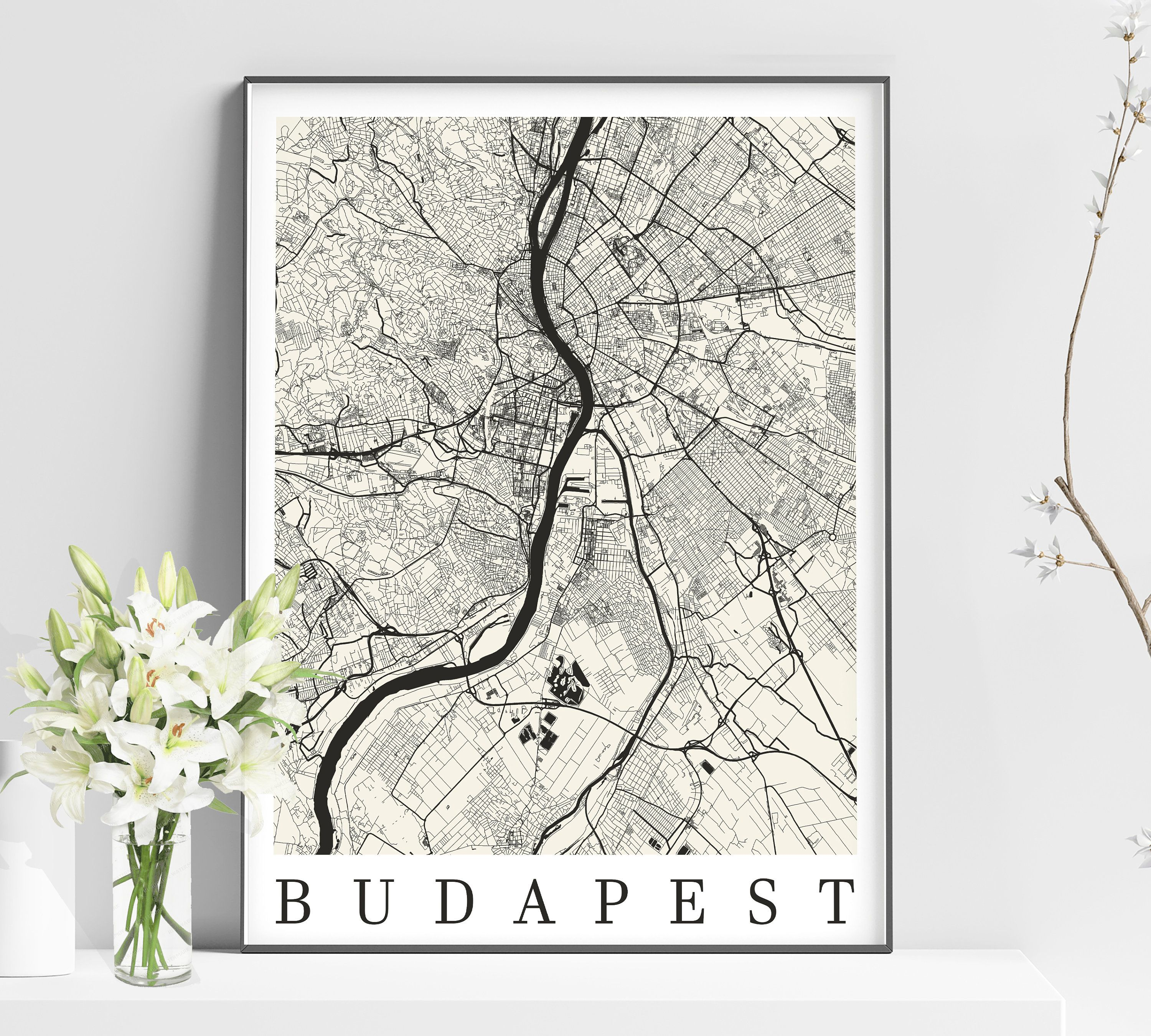 City Map Of BUDAPEST