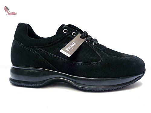 FRAU , Chaussures de ville à lacets pour homme bleu bleu 39