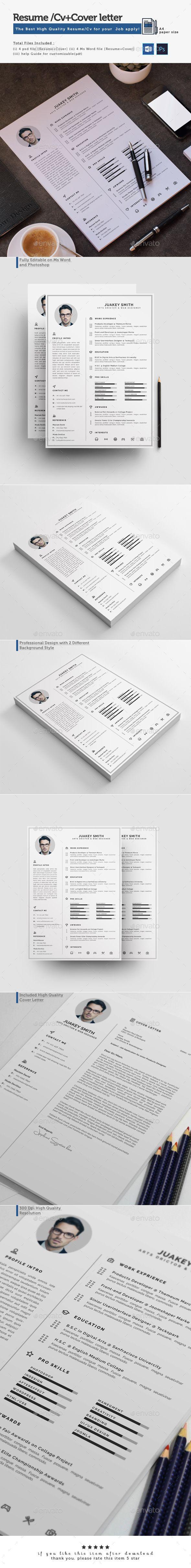 Resume   Pinterest   Currículum