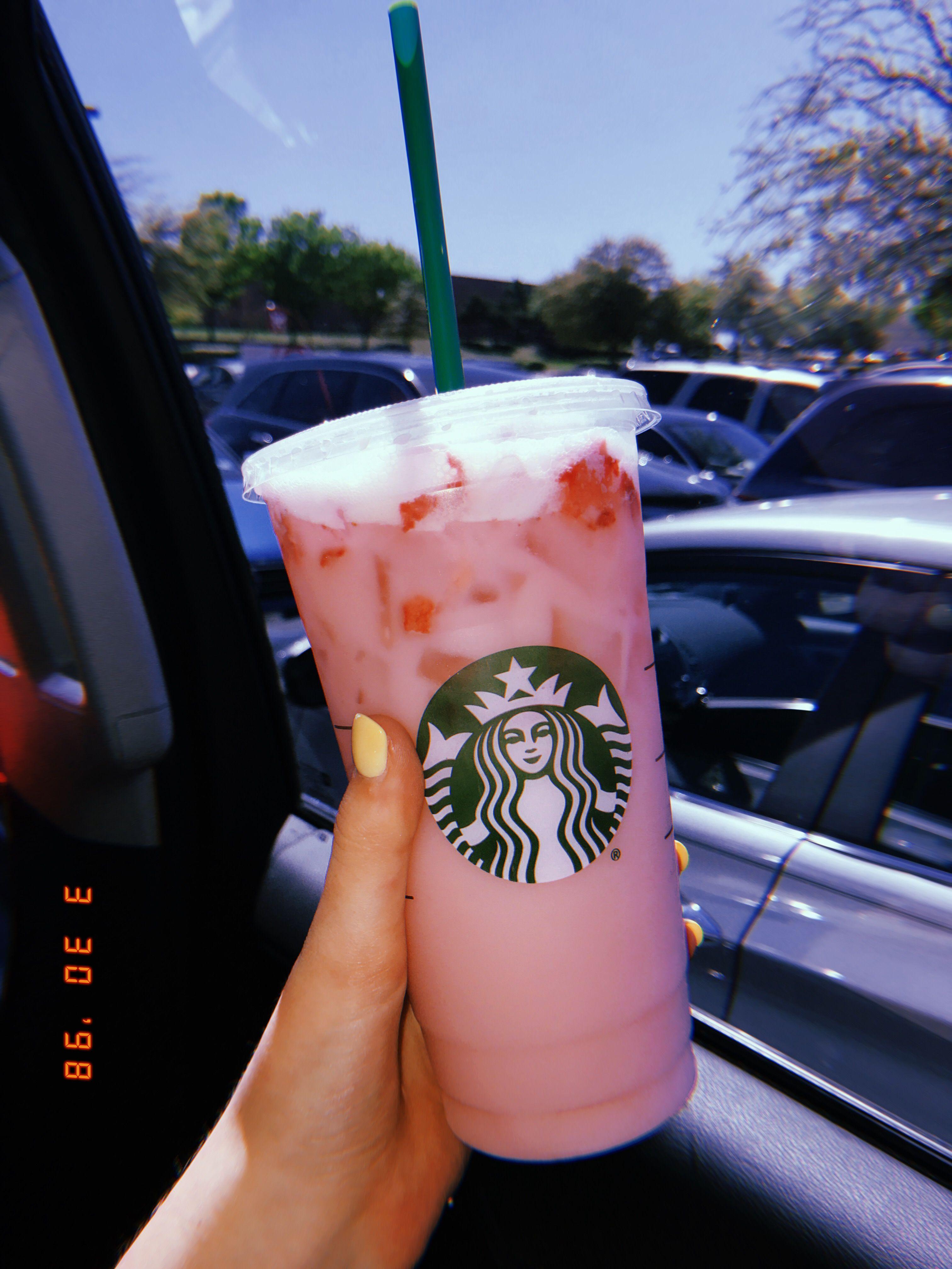 ᴾⁱⁿ ☆α ᵈ α . ʳ ⁱ ᵒ ˢ ‼️️☹☆ Pink drinks, Starbucks hot