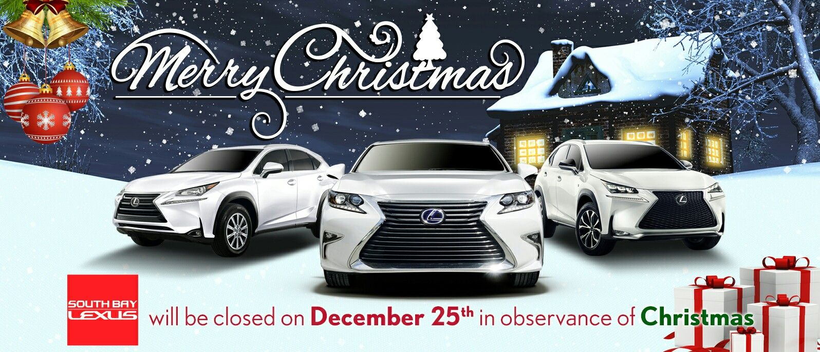 From South Bay Lexus To The Community Merry Christmas Enjoy The Gift Giving Decembertoremember Lexus New Lexus Suv Lexus Suv