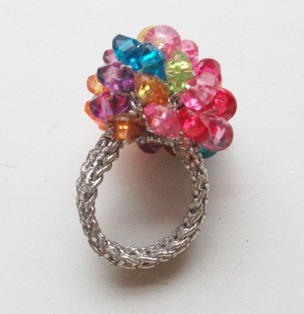 crochet rings Inspiration Pinterest
