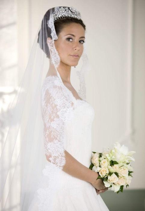 Princess Marie of Denmark, Diamond Floral Tiara. Originally the ...