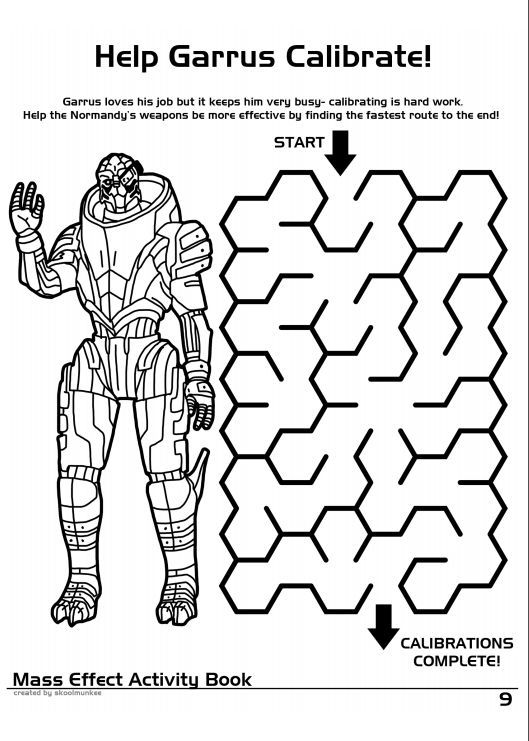 Mass Effect Activity Book I MUST HAVE IT