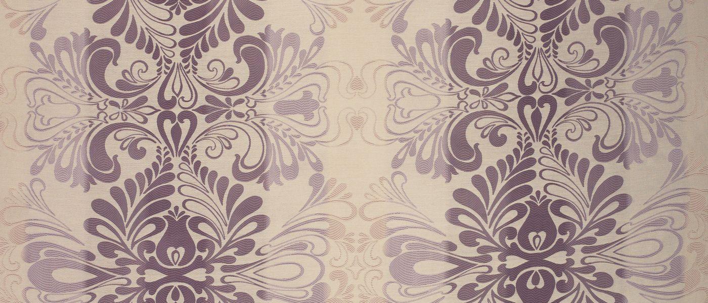 Fitzroy Amethyst Woven Fabric At Laura Ashley Curtains - Laura ashley curtains purple