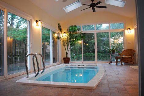 indoor swim spa designs - Google Search | Dream House Swimming Pool ...
