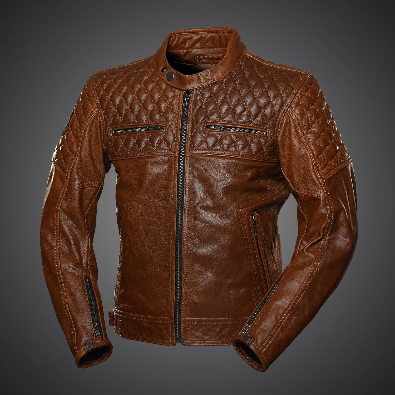 Our new 4SR Scrambler jacket optimises luxury and style