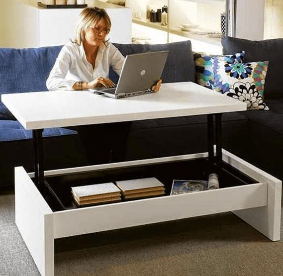 kleine woonkamer inrichten tips - Desks | Pinterest - Kleine ...