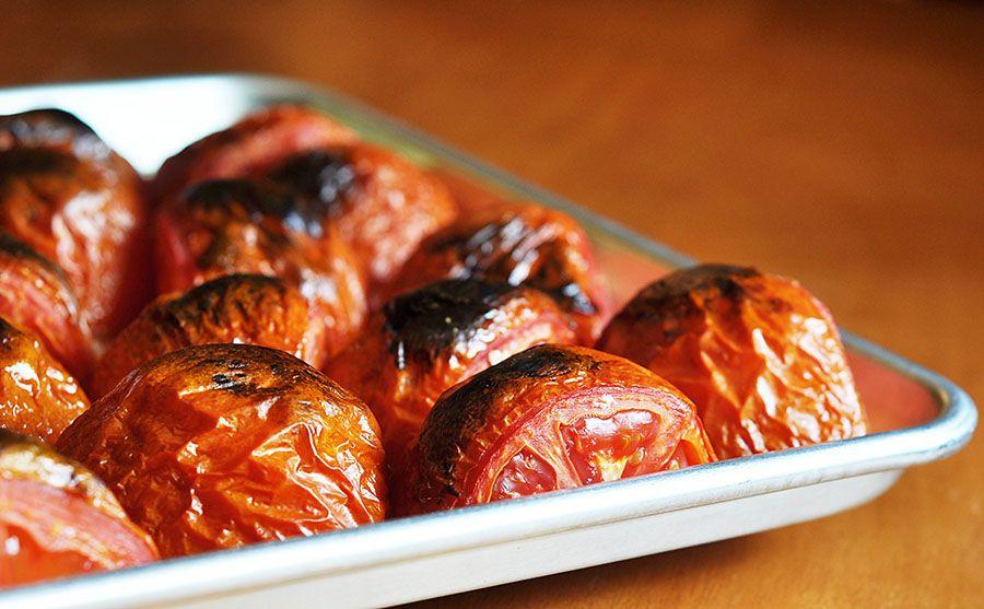 Mississippi Kitchen: Freezing Fire Roasted Tomatoes