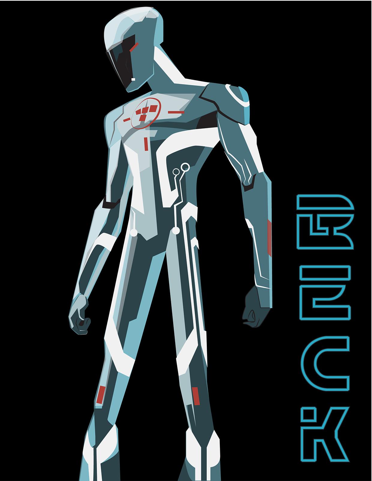Character Design Price : Beck tron uprising my digital artwork pinterest