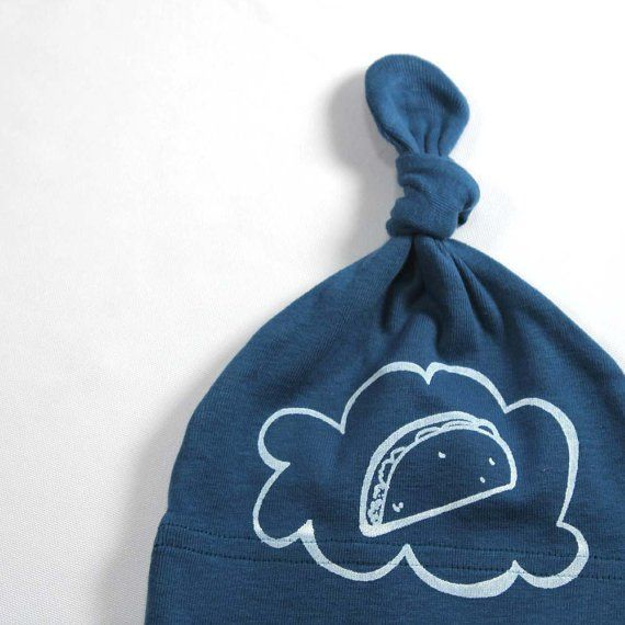 Pin for Later: 30 Etsy Stocking Stuffers (All Under $25!)  LEFTRight Organic Baby Taco Hat ($15)