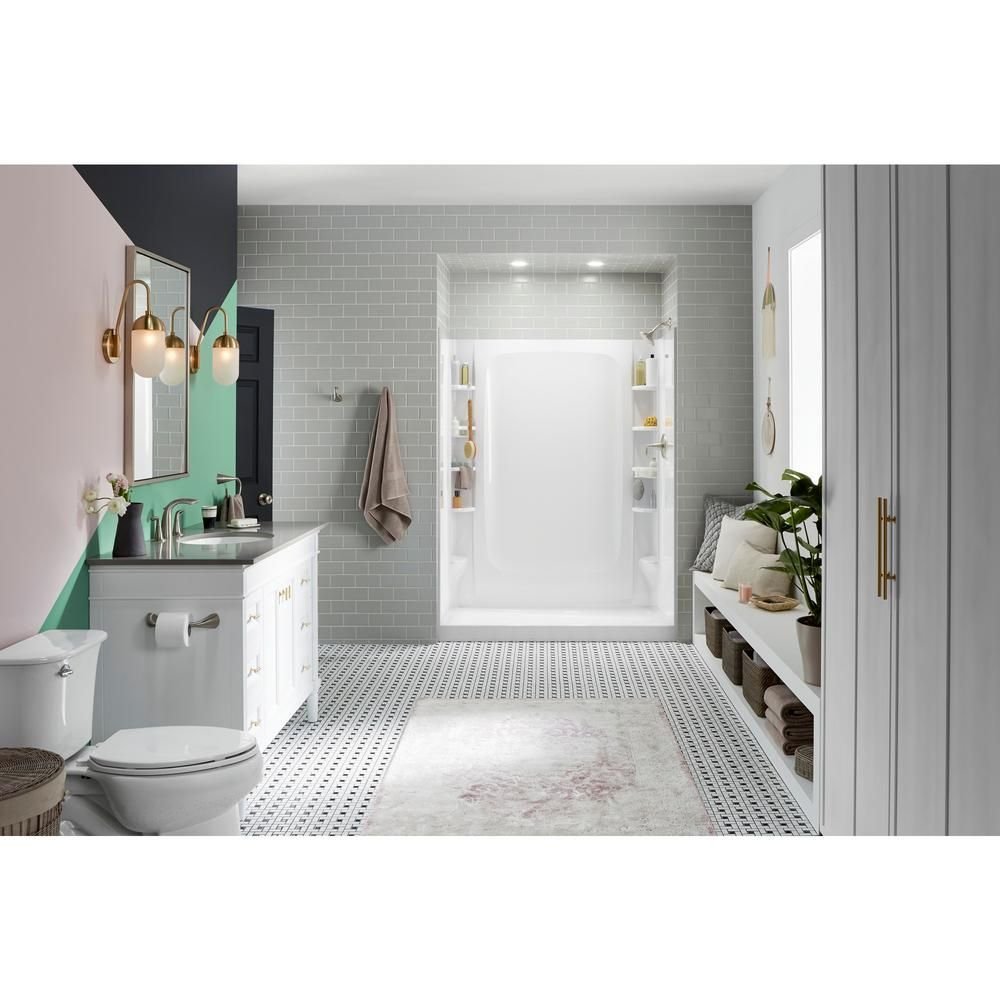 Sterling Store 30 In X 60 In Single Threshold Right Hand Shower