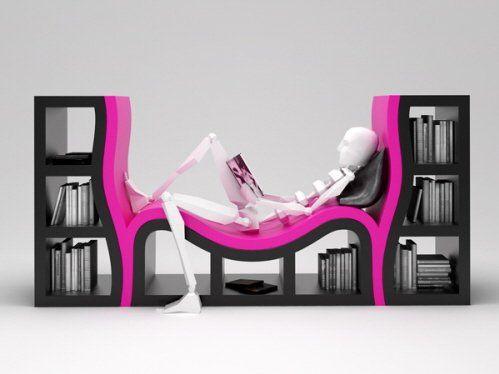 14 Cool Modern Bookshelves For Home Usage Furniture