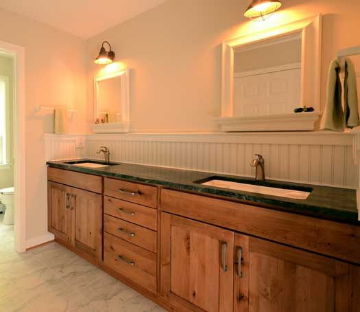 Bathroom In Agawam, MA. Designed By Kitchen Bath Design Center With Custom  Marble Design