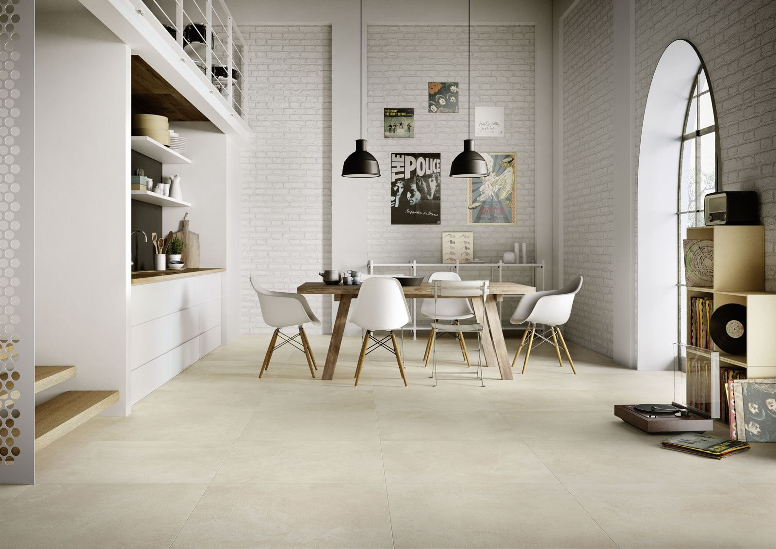 Marazzi Timeless Ivory 75x75 cm MMWN   Fliesen wohnzimmer