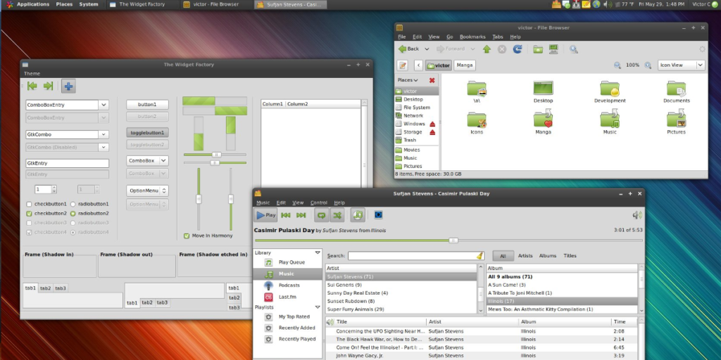 8 Of The Best LXDE Themes Linux, Good things, Geek stuff