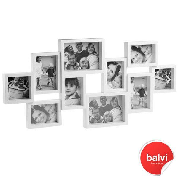 City 10 Multi Photo Frame - White | Gdjhfkg | Pinterest | Multi ...