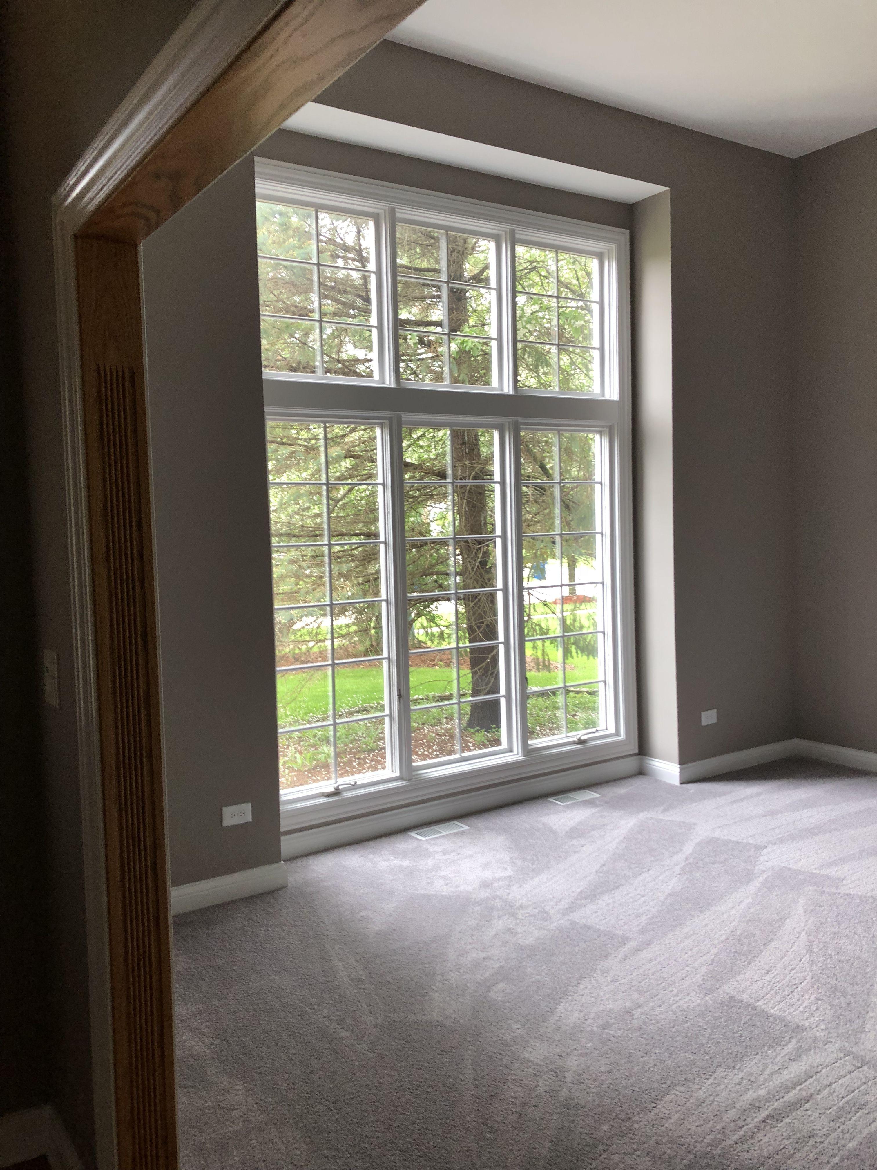 basement slider window