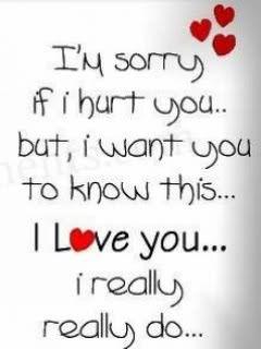 I M Sorry Love Quotes Captivating Sorryplease Forgive Me  Mots Pour La Pluie Et Le Soleil