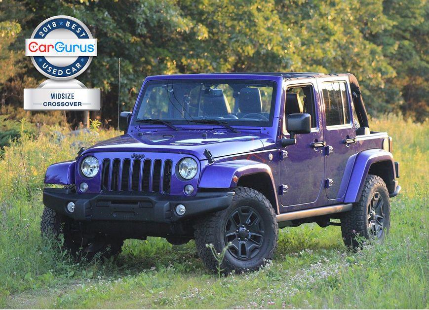 Cargurus 2018 Used Car Awards 2018 Jeep Wrangler Unlimited