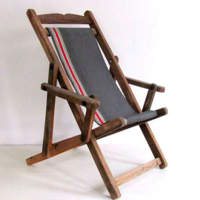 Childrenu0027s Vintage Beach Camping Chair Summer Camp Pinterest - sillas de playa