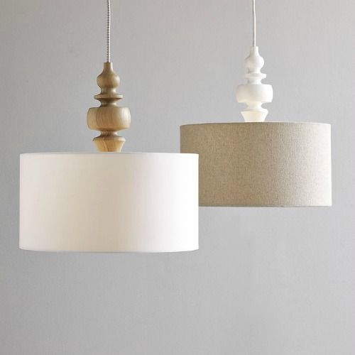 Pendant Lights with Punch  Craftsman Drums and Punch