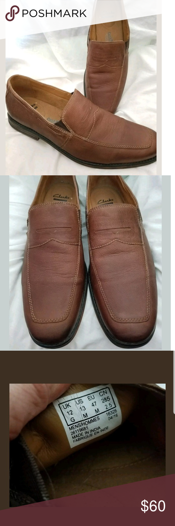 b0a42f4adfa Clark s Collection Holmby Step penny loafer 13 M Light and comfortable Clarks  mens penny loafer 13 M Holmby Step. Brown leather uppers