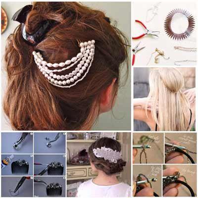 Como hacer adornos para el cabello paso a paso buscar - Como hacer adornos para el pelo ...