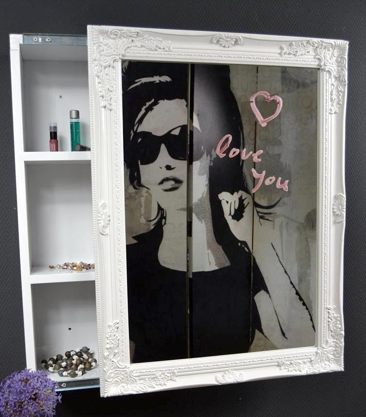 Schrank Spiegelschrank Badschrank Spiegel Bad Impressionen Barock Spiegel Badschrank Barock Spiegel Spiegelschrank