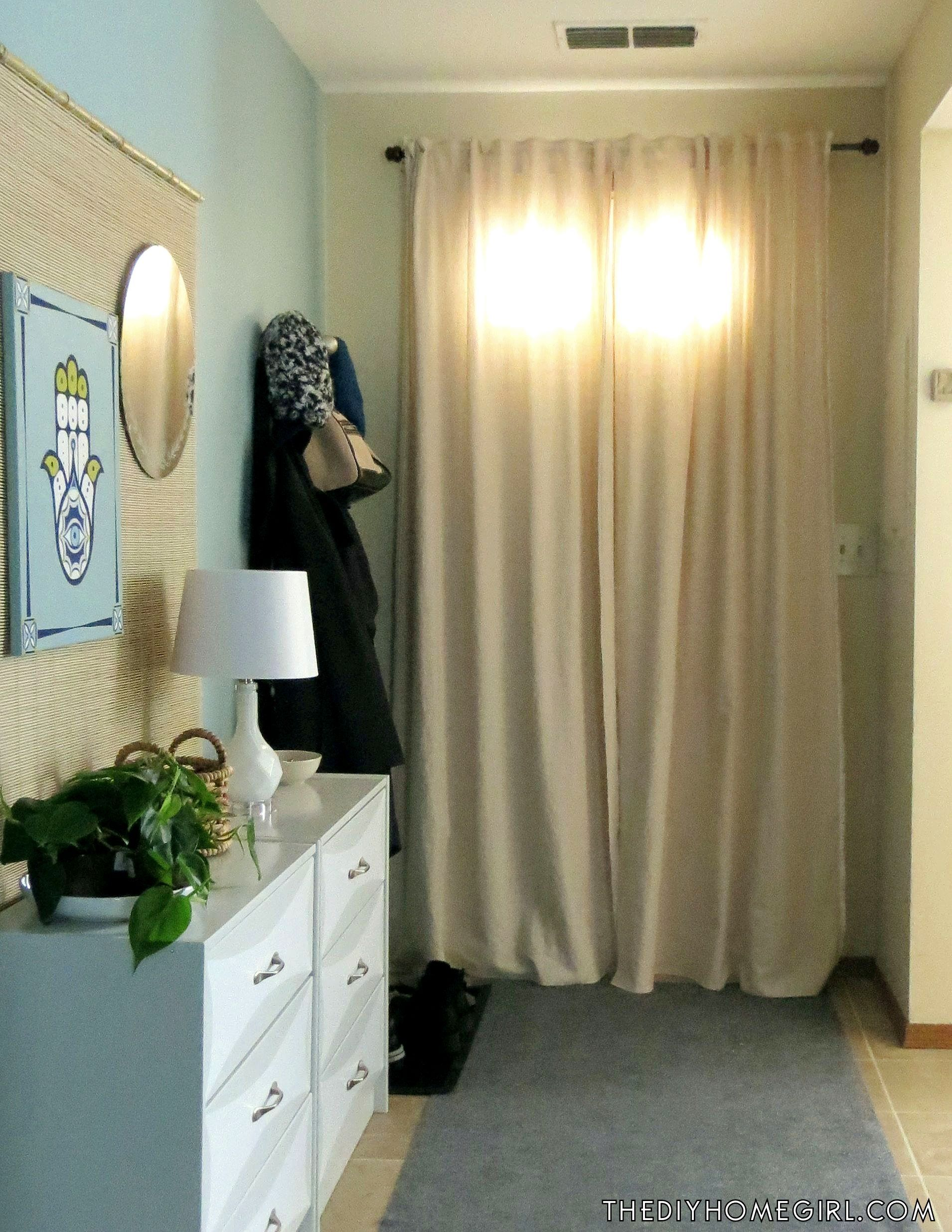 Front Door Insulation Curtain