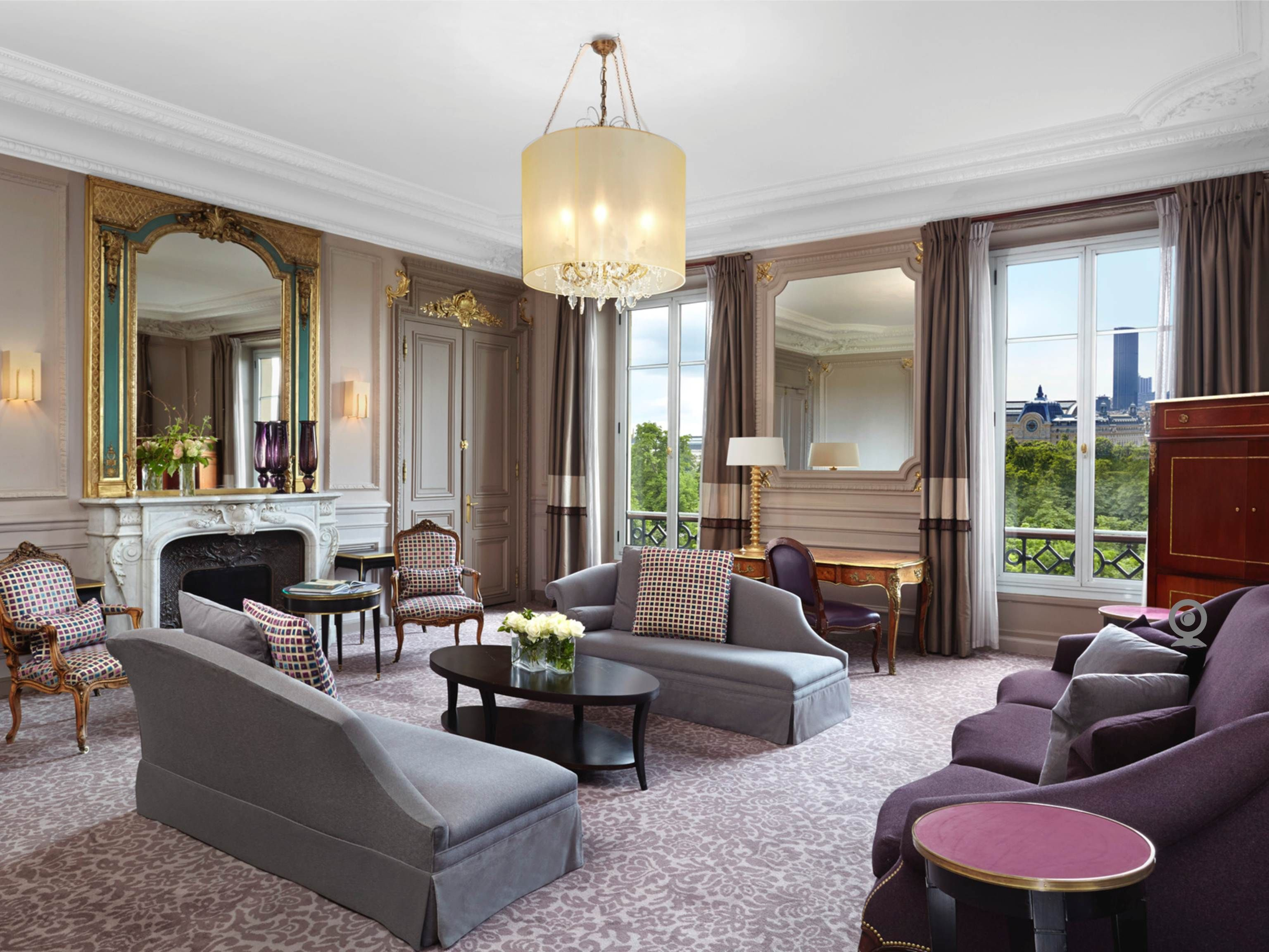 The Presidential Suite is a unique retreat that expertly
