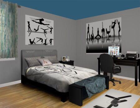 Gymnastics Themed Bedroom Modern Gymnastics Room Decor Bedroom Decor Gymnastics Bedroom