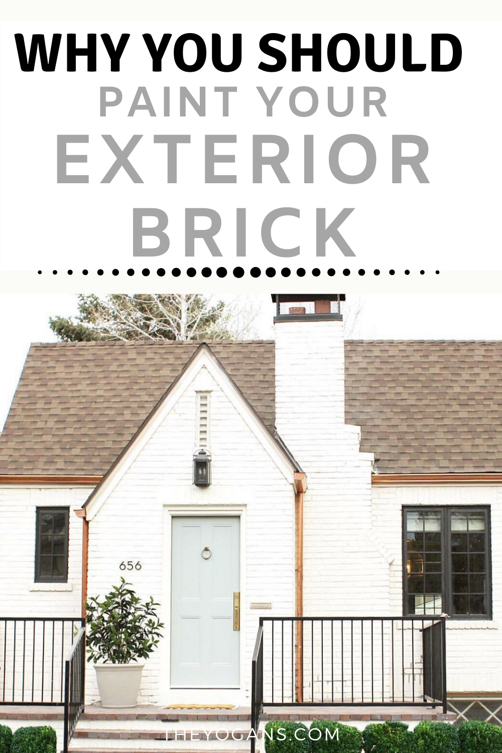 Painted Brick Exteriors Pros And Cons In 2020 Brick Exterior