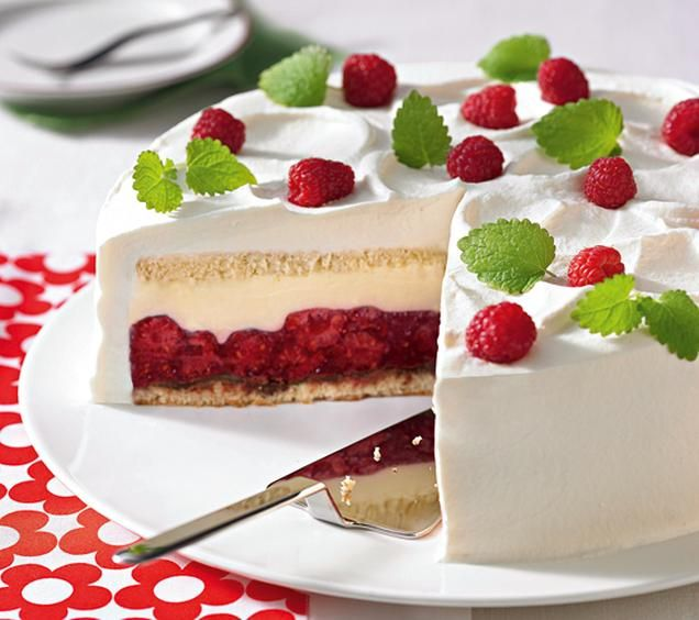 Himbeer Mascarpone Torte Rezept Kuchen Und Torten Kuchen Und Torten Rezepte Desserts Ohne Backen