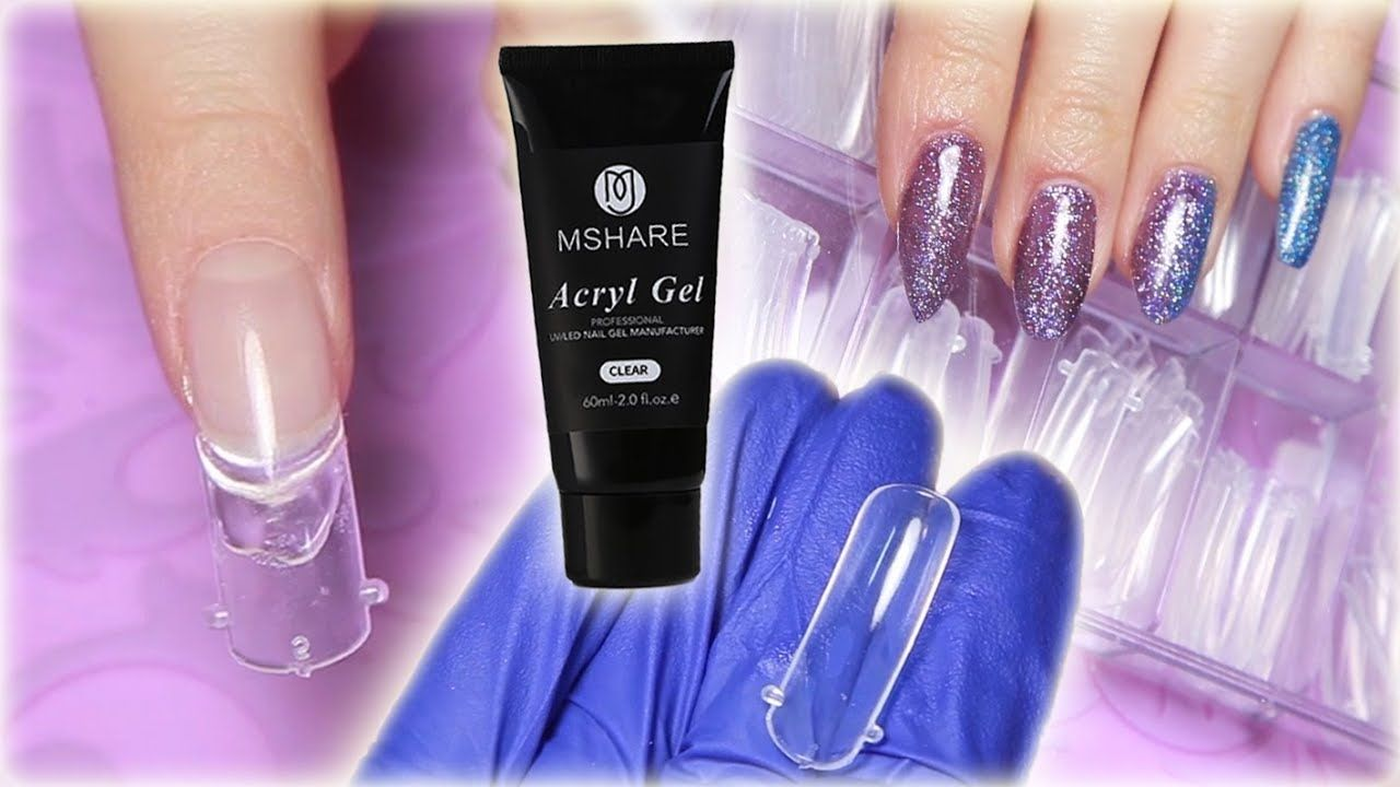 DUAL FORMS with Acryl Gel Mshare Review & Tutorial