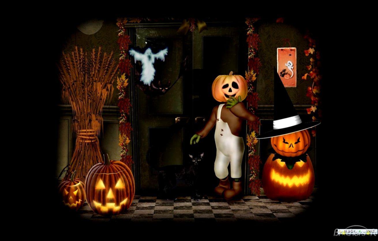 Free Halloween Animated Desktop Wallpaper 1920 1080 Animated Halloween Wallpapers 35 Wallpapers Adorable W Halloween Wallpaper Halloween Cartoons Halloween