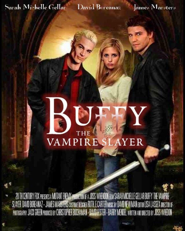 315e7046960 Buffy the Vampire Slayer Movie Poster by Evil-Sapphire on deviantART ...
