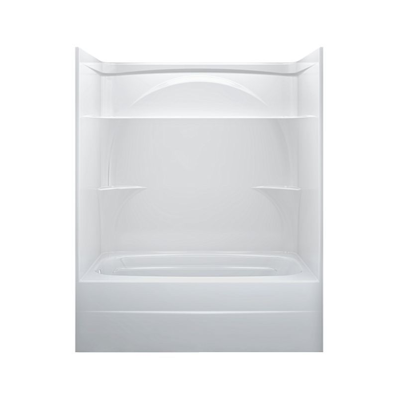 226032AL00 Styla 60in. X 32in. One Piece Tub Shower-Left Drain ...