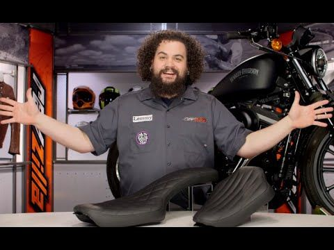 Burly Brat Seat for Harley Sportster Review at RevZilla com
