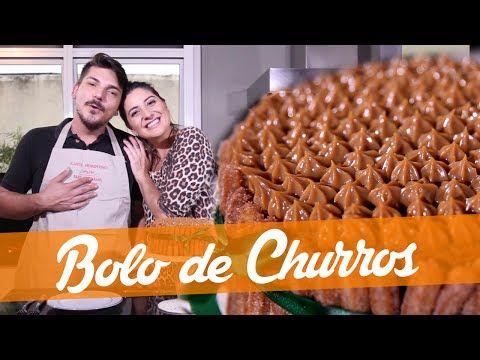 Bolo De Churros Carol Fiorentino E Matheus Receita Bake Off