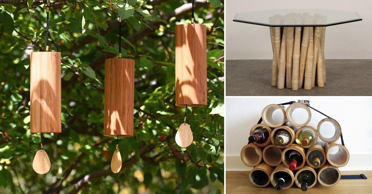 15 ideas para decorar con bambú - decoracion con bambu