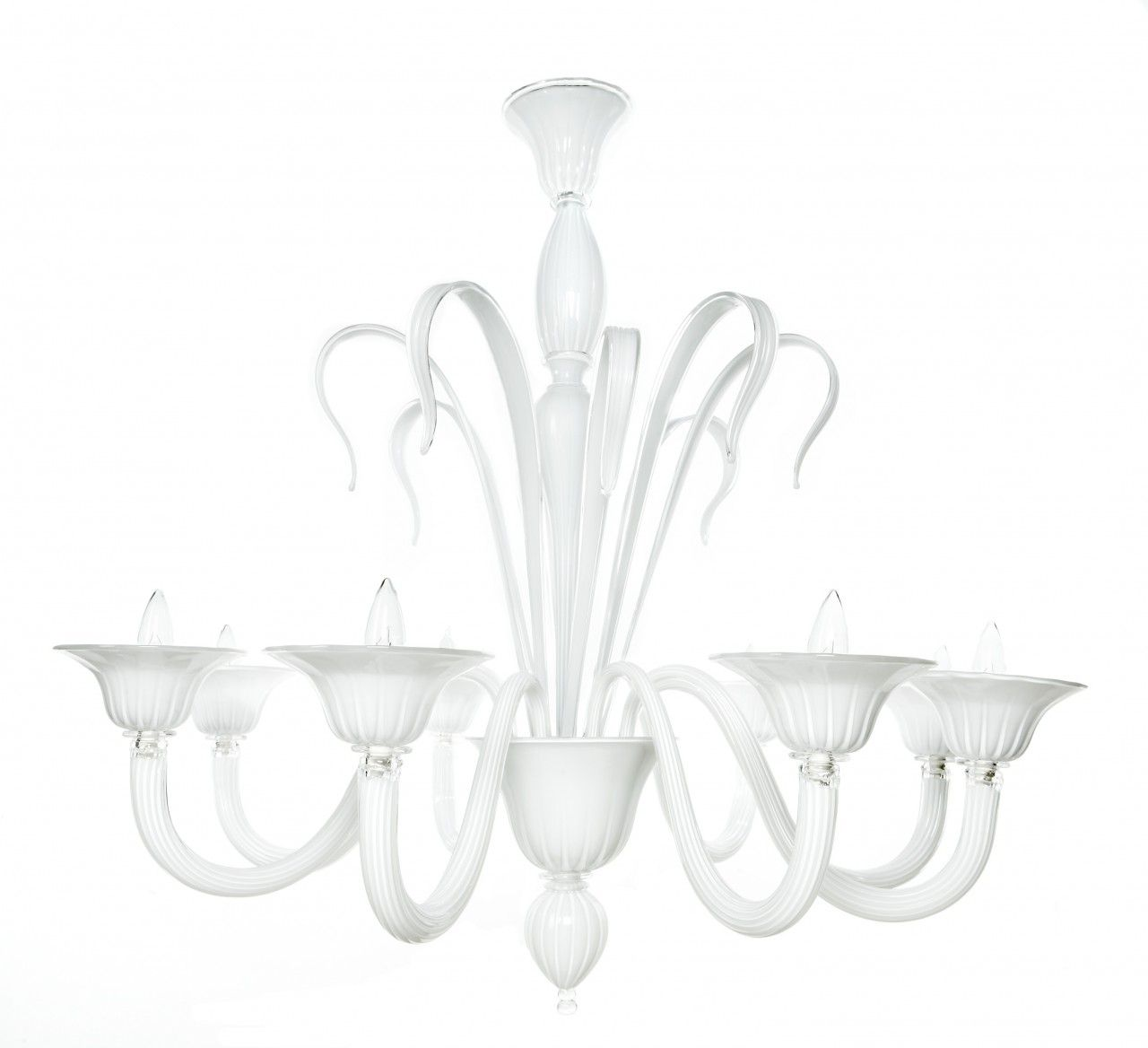 Google Image Result For Nestdallas Com Images T 310 Murano Glass White Chandelier 93999 Zoom Jpg
