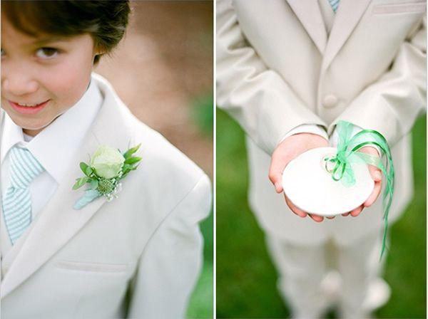Cute ring bearer idea