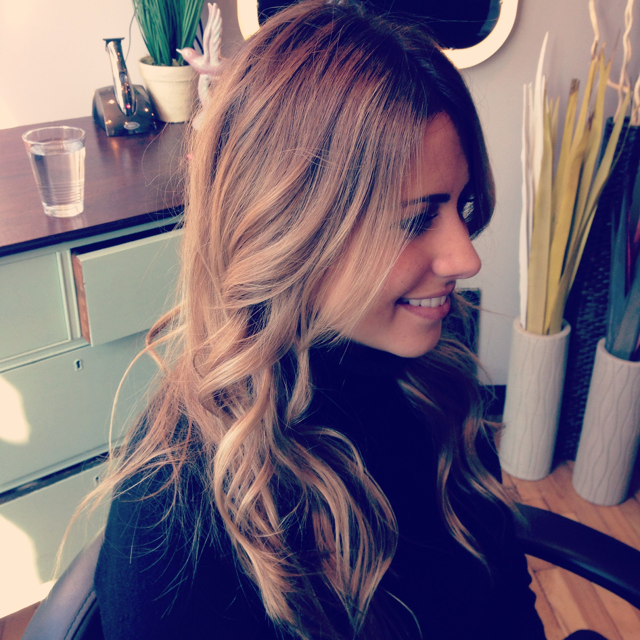 Soft balayage highlights and hair color by Kellyn at Bow & Arrow ...