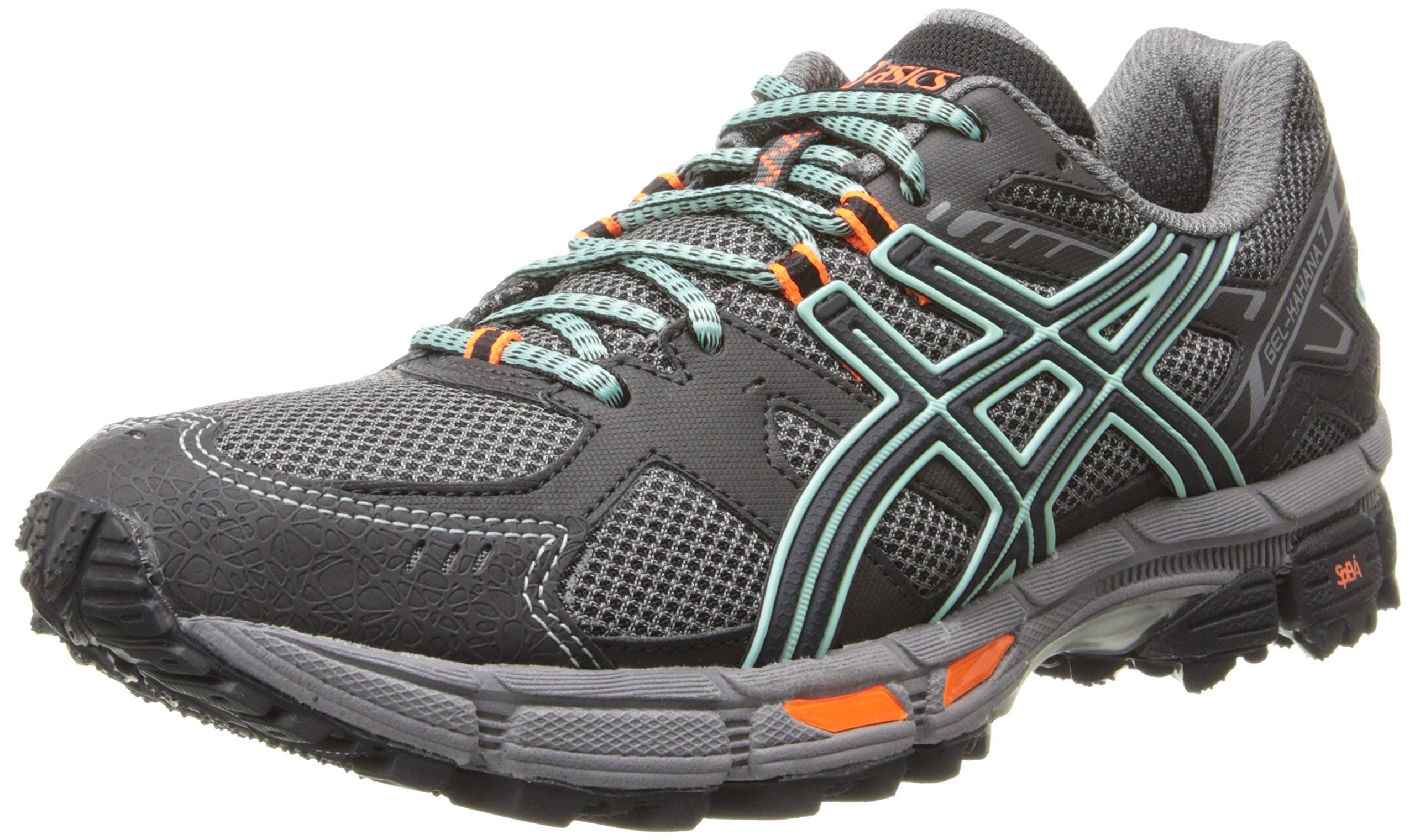bc6c2bb3d131 ASICS Women s Gel-Kahana® 7 Onyx Beach Glass Flash Coral 9 B - Medium  74.38