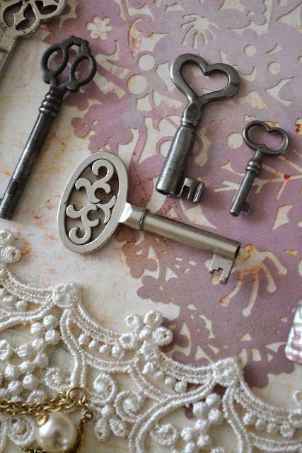 Interesting old keys