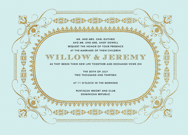 A Regal Wedding by Paper + Cup for Paperless Post. Create ...