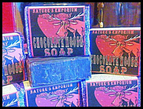 Chocolate Moose ~ Natural Soap, Candle & Lotion – Nature's Emporium Cherokee Soap Co. CherokeeSoap.com