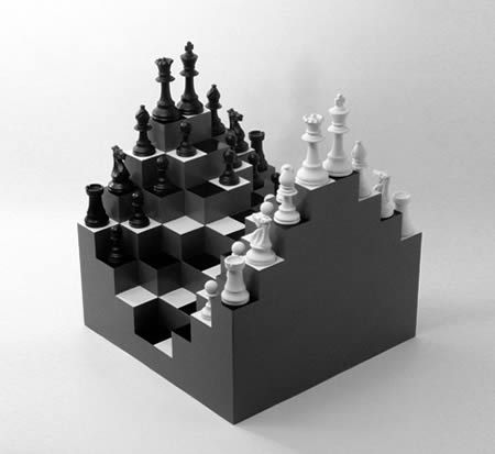 A96727 A475 3d Chess Chess Board Diy Chess Set 3d Chess Board