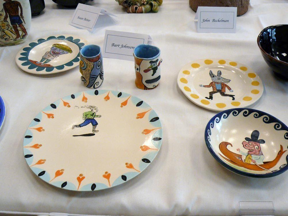 La Mesa show at NCECA. & Bart Johnson tableware. La Mesa show at NCECA. | Dinnerware | Pinterest